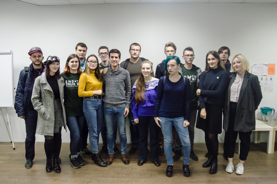 Lecture about MDMA in Minsk