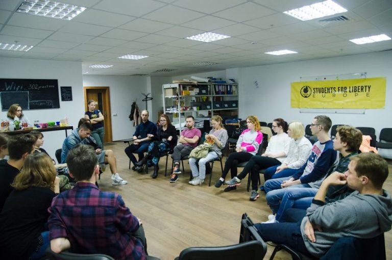 """""""The Culture High"""" movie screening in Minsk"""