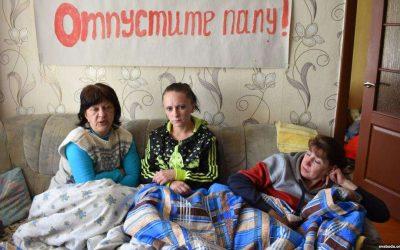 БелПраўда: Матери 328 голодают уже 11 суток