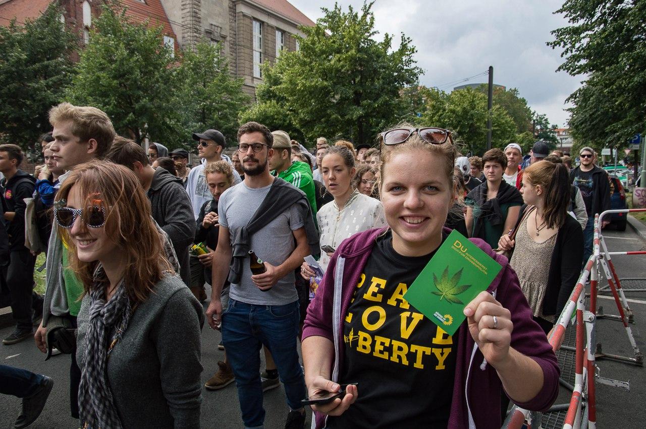 Hanfparade 2017 Образовательная поездка в Берлин 11-13 августа 2017
