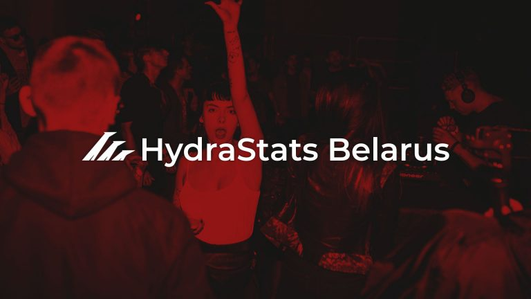 HydraStats: generalized data and charts about Hydra in Belarus